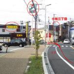 宝塚市役所方向から見たところ
